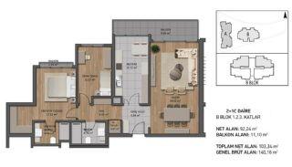 Luxueux Appartements Près de la Mer à Beykoz Istanbul, Projet Immobiliers-2
