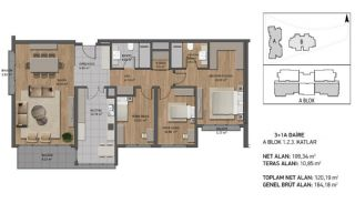 Luxury Apartments Close to the Sea in Beykoz İstanbul, Property Plans-3