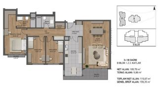 Luxury Apartments Close to the Sea in Beykoz İstanbul, Property Plans-4