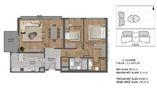 Luxury Apartments Close to the Sea in Beykoz İstanbul, Property Plans-5