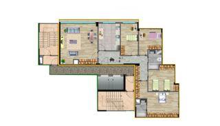 Küçükçekmece Appartementen met Uitzicht op het Meer, Vloer Plannen-4