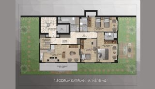 Bosphorus View Real Estate in Istanbul Uskudar, Property Plans-2