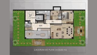 Bosphorus View Real Estate in Istanbul Uskudar, Property Plans-3