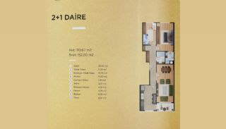 Capacious Apartments in İstanbul Beylikdüzü with Sea View, Property Plans-1