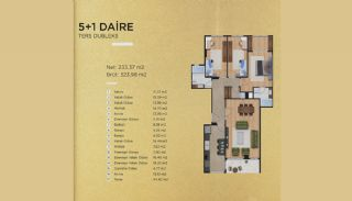 Capacious Apartments in İstanbul Beylikdüzü with Sea View, Property Plans-5