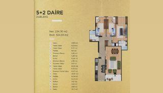 Lyxiga lägenheter i Istanbul Beylikdüzü med havsutsikt, Planritningar-6