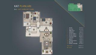 Новые Квартиры в Стамбуле Рядом с Проектом Канала Стамбул, Планировка -2