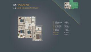 Новые Квартиры в Стамбуле Рядом с Проектом Канала Стамбул, Планировка -5