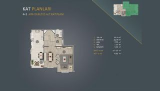 New Istanbul Apartments Close to Canal Istanbul Project, Property Plans-6