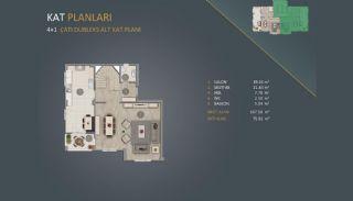 Новые Квартиры в Стамбуле Рядом с Проектом Канала Стамбул, Планировка -9