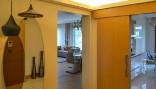 Contemporary Home Office Concept Istanbul Apartments, Interior Photos-3