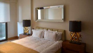 Contemporary Home Office Concept Istanbul Apartments, Interior Photos-4