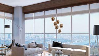 Contemporary Home Office Concept Istanbul Apartments, Interior Photos-5