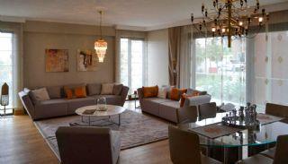 Contemporary Home Office Concept Istanbul Apartments, Interior Photos-6