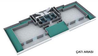 Недвижимость для Инвестиций в Центре Стамбула в Турции, Планировка -3