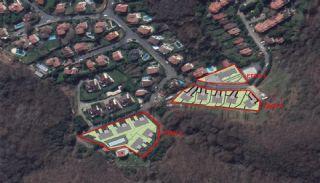 Triplexvillor sammanflätade med naturen i Sarıyer Istanbul, Planritningar-3