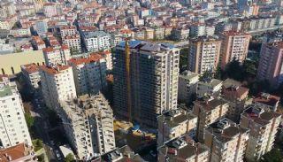 Квартиры в Стамбуле в Малтепе с Видом на Море, Фотографии строительства-2
