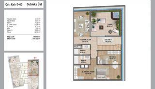 Квартиры в Стамбуле в Малтепе с Видом на Море, Планировка -2