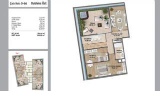 Квартиры в Стамбуле в Малтепе с Видом на Море, Планировка -4