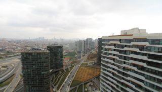 شقق بإطلالة بانورامية على المدينة في مجمع آمن في كاديكوي, اسطنبول / قاضي كوي - video