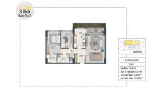 Investition-Wohnungen in prestigeträchtiger Lage in Istanbul, Immobilienplaene-3