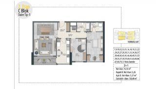 Investition-Wohnungen in prestigeträchtiger Lage in Istanbul, Immobilienplaene-4