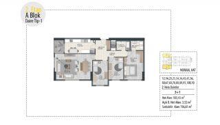 Investition-Wohnungen in prestigeträchtiger Lage in Istanbul, Immobilienplaene-6