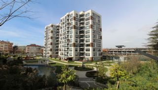 Istanbul lyxfastigheter till salu i ett modernt komplex, Istanbul / Sancaktepe