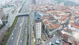Роскошные Квартиры в Кягытхане в Стамбуле Рядом с Шоссе E-5, Фотографии строительства-3