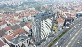 Роскошные Квартиры в Кягытхане в Стамбуле Рядом с Шоссе E-5, Фотографии строительства-4