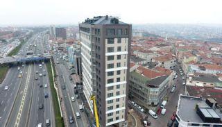 Роскошные Квартиры в Кягытхане в Стамбуле Рядом с Шоссе E-5, Фотографии строительства-5