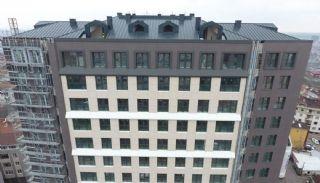 Роскошные Квартиры в Кягытхане в Стамбуле Рядом с Шоссе E-5, Фотографии строительства-6
