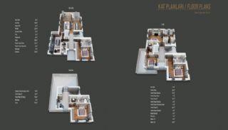 Çekmeköy'de Doğa İçinde Orman Manzaralı Müstakil Villalar, Kat Planları-1