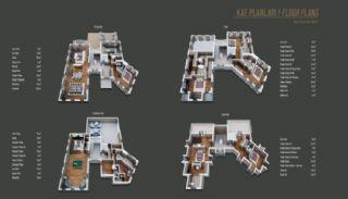 Виллы  в Чекмекёй с Видом на Лес в Проекте у Реки, Планировка -3