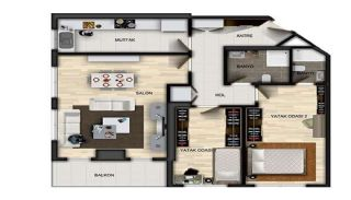 Centrally Located Properties in Istanbul with Sea Views, Property Plans-2