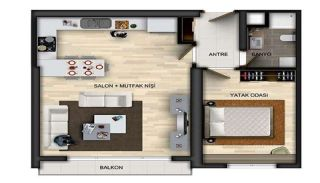 Centrally Located Properties in Istanbul with Sea Views, Property Plans-4
