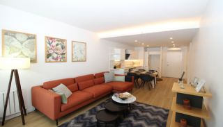Spacious Apartments on the D-100 Highway in Kartal Istanbul, Interior Photos-3