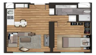 Spacious Apartments on the D-100 Highway in Kartal Istanbul, Property Plans-1