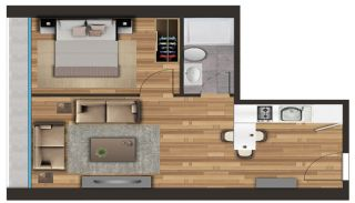 Spacious Apartments on the D-100 Highway in Kartal Istanbul, Property Plans-4
