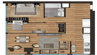 Spacious Apartments on the D-100 Highway in Kartal Istanbul, Property Plans-5