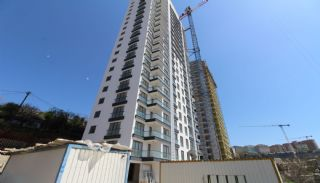 Stadt und Meerblick Nagelneue Wohnungen in Istanbul Türkei, Foto's Bau-1