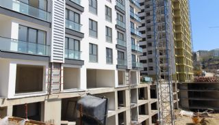Stadt und Meerblick Nagelneue Wohnungen in Istanbul Türkei, Foto's Bau-2