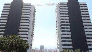 Stadt und Meerblick Nagelneue Wohnungen in Istanbul Türkei, Istanbul / Kartal - video