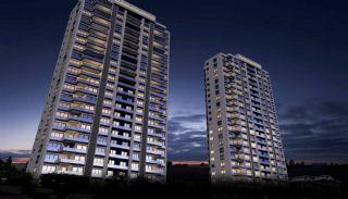 Stadt und Meerblick Nagelneue Wohnungen in Istanbul Türkei, Istanbul / Kartal