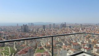 Stadt und Meerblick Nagelneue Wohnungen in Istanbul Türkei, Foto's Innenbereich-17