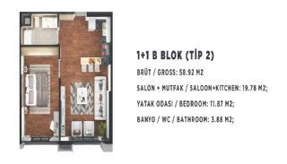 Stadt und Meerblick Nagelneue Wohnungen in Istanbul Türkei, Immobilienplaene-2