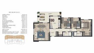 Недвижимость в Стамбуле в Комплексе Семейного Типа, Планировка -11