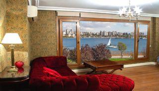 شقة مطلة على البحر بموقع مركزي في كاديكوي اسطنبول, تصاوير المبنى من الداخل-6