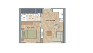 Appartementen dicht bij het Aydos-bos in Kartal Istanbul, Vloer Plannen-2