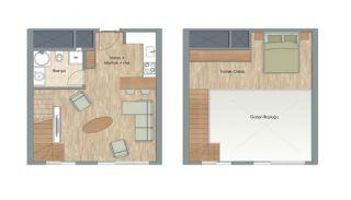 Appartementen dicht bij het Aydos-bos in Kartal Istanbul, Vloer Plannen-3
